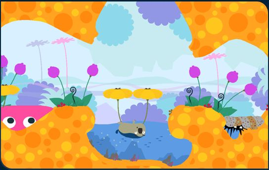 all stars battle royale locoroco