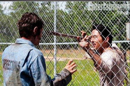 Walking Dead Glenn caminante