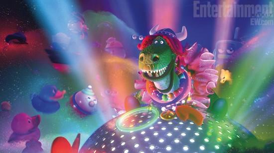rex corto pixar partysaurus fiesta