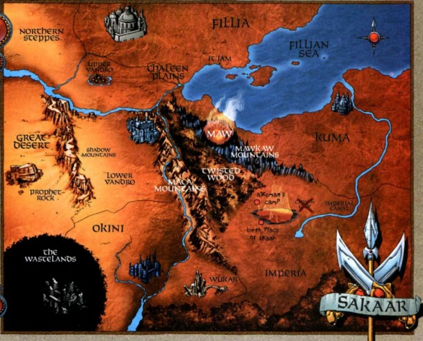 Mapa de Sakaar