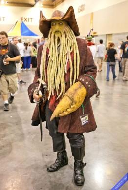 Davy Jones de Piratas del Caribe