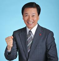 El gobernador Kensaku Morita