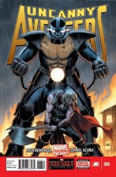 Portada de Uncanny Avengers #6