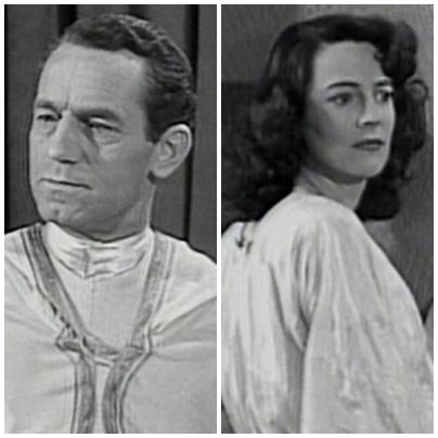 "Nelson Leigh y Luana Walters en ""Superman Serial"" (1948)"