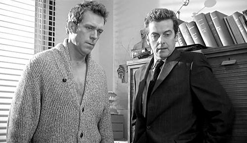 Hugh Laurie y Peter Capaldi en Fortysomething