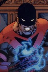 Electrocutioner en el cómic