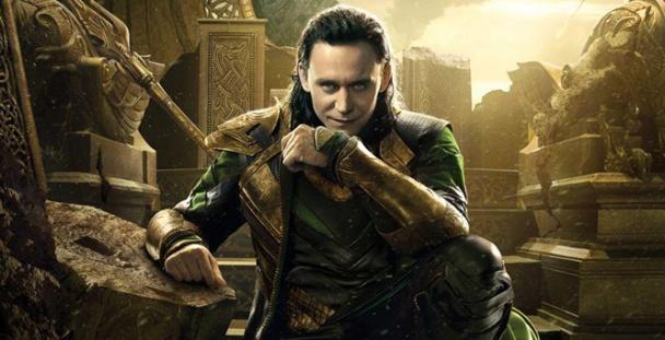 Loki en Thor El Mundo Oscuro