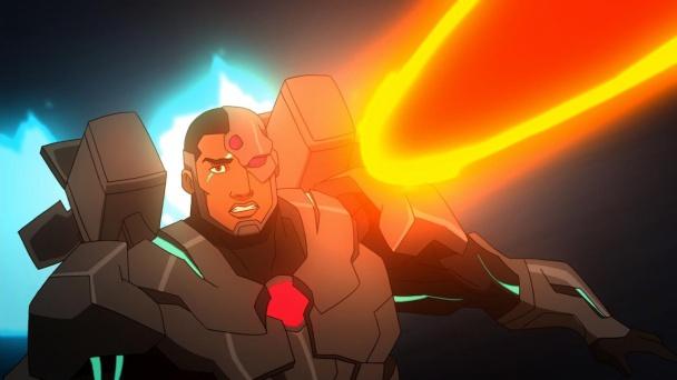 Justice League War dc comics Cyborg
