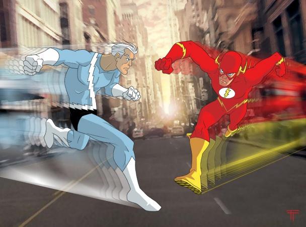 The Flash vs. Quicksilver1