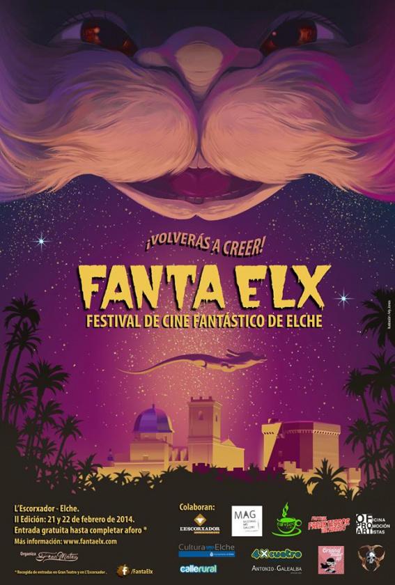 Cartel de la II edición de Fanta Elx en 2014
