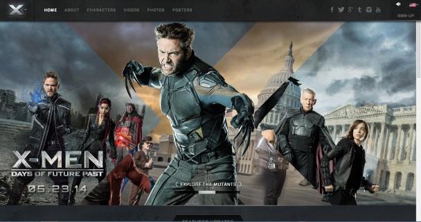 Web X-Men Días del Futuro Pasado