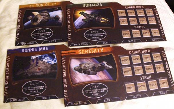 Los 4 tipos de Firefly disponibles
