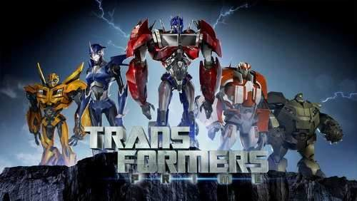 optimus prime transformers prime la serie animada 23cm 5191 MLA4238723684 042013 O