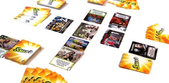 Smash-Up juego de mesa cartras