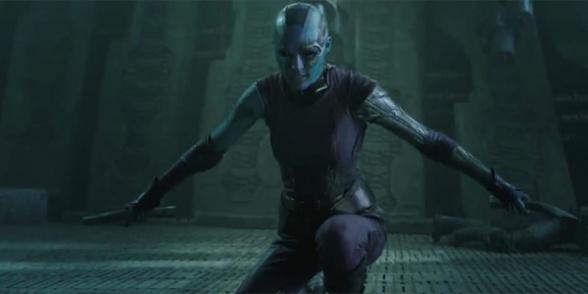 Guardianes de la Galaxia - Karen Gillan
