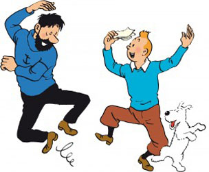 Tintin original cover