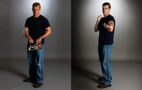 Matt Damon Bourne