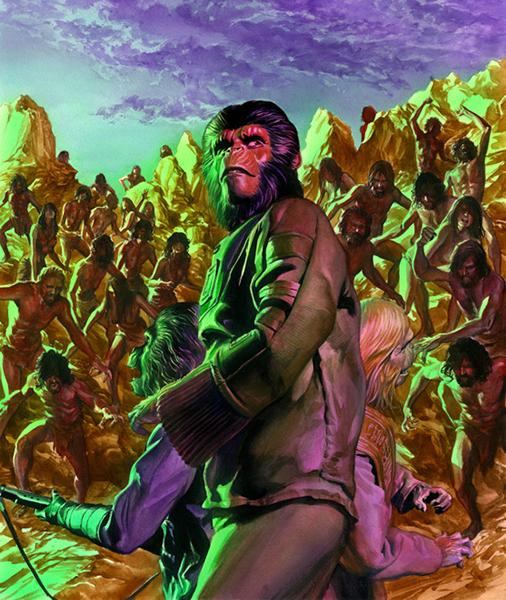 Alex Ross Planeta de los simios