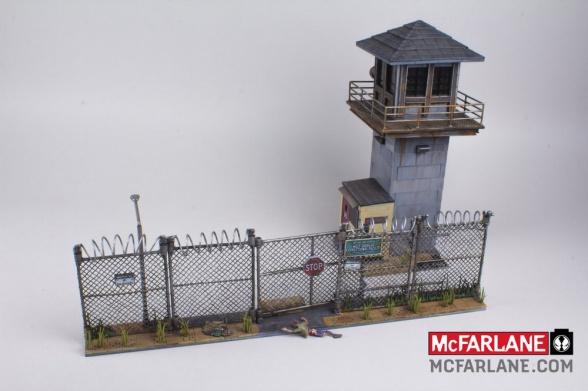 McFarlane Toys nos permitirá recrear los escenarios de 'The Walking Dead'