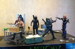 SDCC Arrow-display1 DC Collectibles