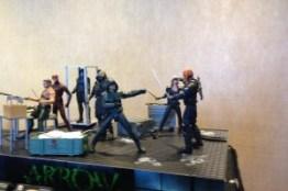 SDCC arrow-display DC Collectibles