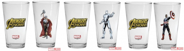 vasos avengers now comic con 2014