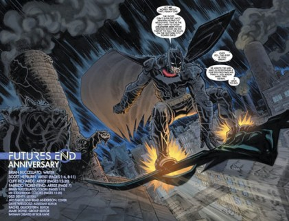 Primer vistazo a 'Detective Comics: Futures End #1'
