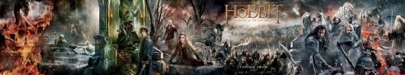El Hobbit la Batalla de los 5 ejércitos Banner