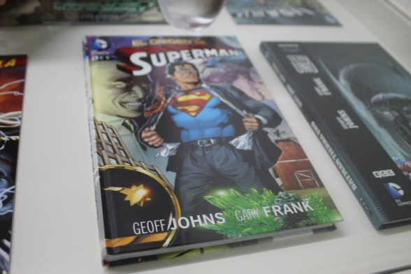 'El origen de Superman', publicado por ECC Ediciones