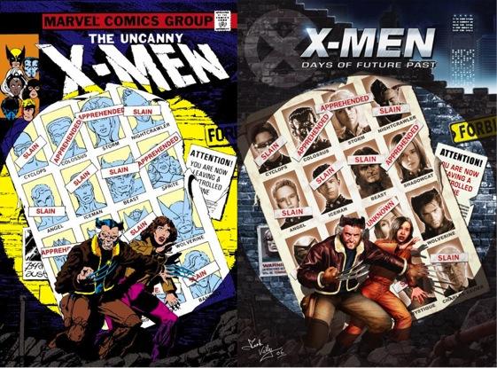 X-Men días del futuro pasado publicidad viral
