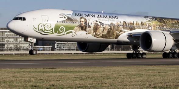 Aerolíneas Neozelandesas El Hobbit destacada