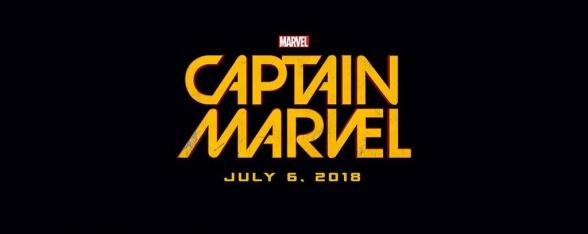 Marvel Event - Captain Marvel official logo