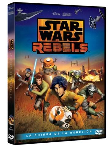 Star Wars Rebels La chispa de la rebelion