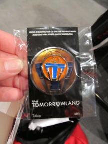 Tomorrowland-pin