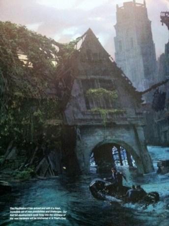 Una ciudad en ruinas que recuerda a uno de los escenarios de la primera entrega