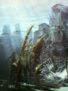 Hermoso paisaje subacuático