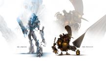 Personajes de Marvel y DC rediseñados como robots