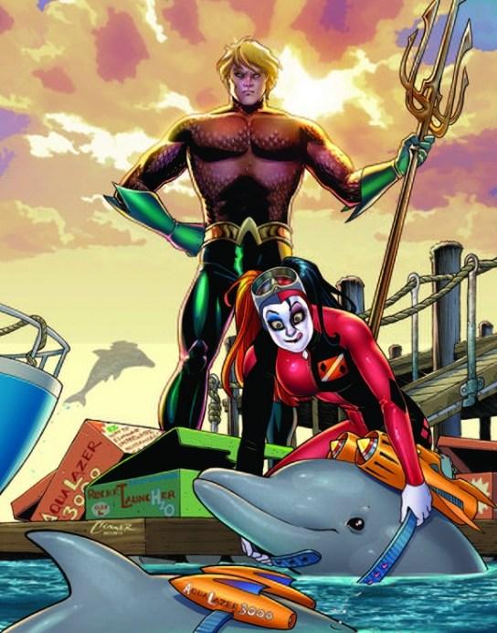 Harley en Aquaman
