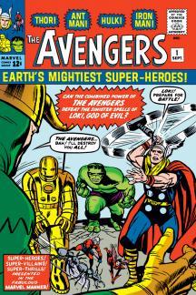 12. AVENGERS (1963) #1