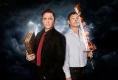 El diablo Crowley y el ángel Azirafel