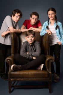 Los Ellos: Brian, Wensleydale, Pepper y Adán (sentado)