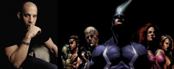Inhumanos - Vin Diesel