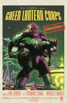 Portada alternativa Green Lantern Corps