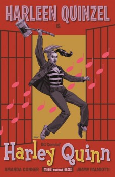Portada alternativa Harley Quinn