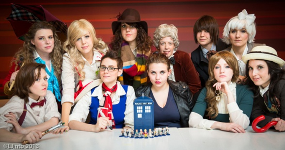 Female Doctor Who cosplay