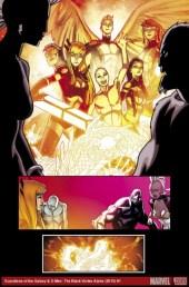 Página de Guardians of the Galaxy & X-Men The Black Vortex Alpha #1