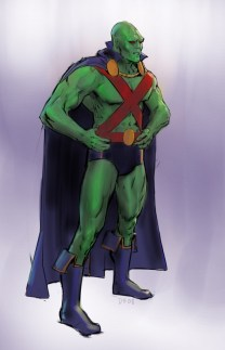 Martian Manhunter - Justice League videogame Double Helix