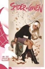 Spider-Gwen #1 Variant Cover por Adam Hughes