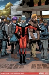 Welcome Home variant cover 02 - Ant-Man 01