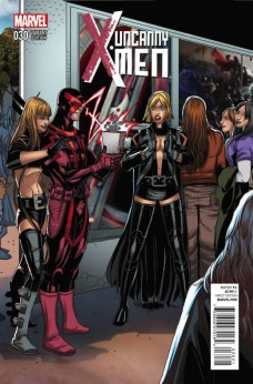 Welcome Home variant cover 07 - Uncanny X-Men 30